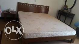 King size bed n matress for sale