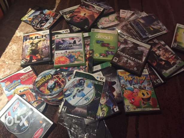 Xbox 360 and wii games for free