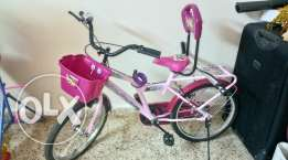 Hero Girls Bicycle with side wheels for above 6 yrs