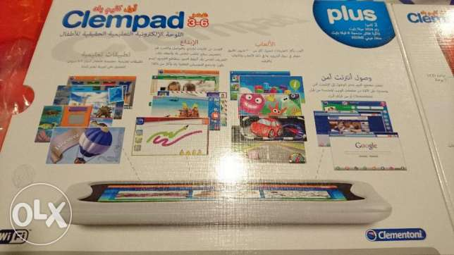 My first clempad plus 3 - 6 for educational tablet for Kids مسقط -  4