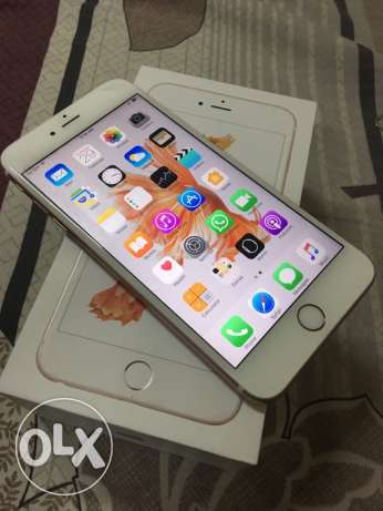 Apple iPhone 6s plus 64GB Rose Gold with warranty مسقط -  1
