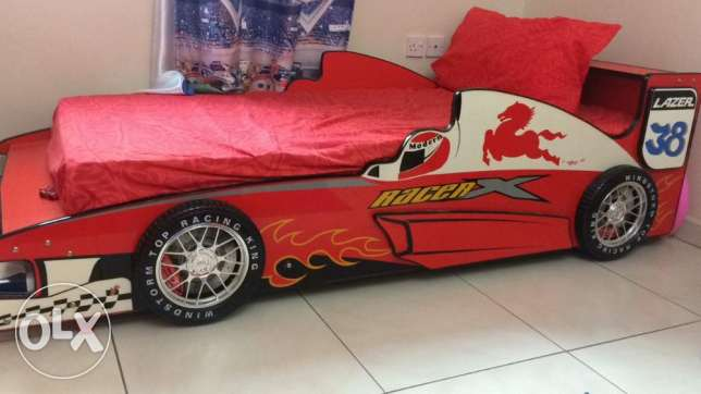 Boy's Car Theme Full Bedroom Set From PAN Emirates for sale. مسقط -  1