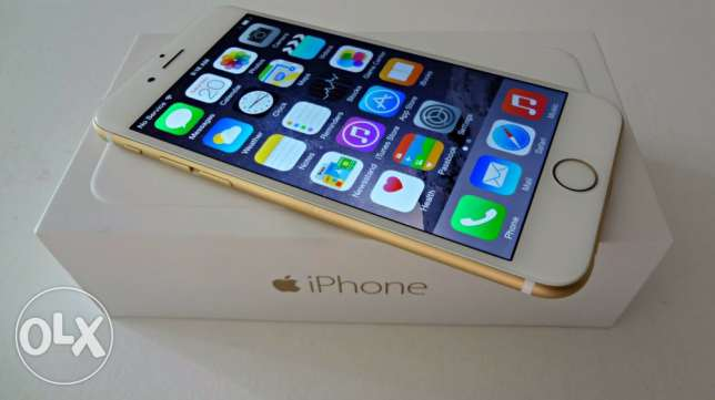 iPhone 6 gold 64GB like new