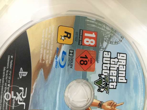 Grand theft auto FIVE V ps3
