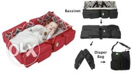 travel bag come bed for neonates