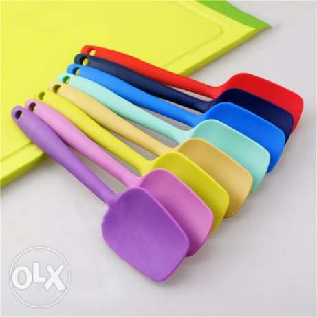 High Quality_Silicone Baking Spatula مسقط -  4