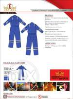 Fire proof coverall for sale