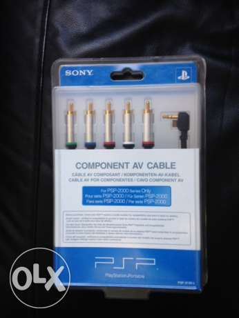 Original Sony PSP 2000 AV cable - Brand new in unopened box