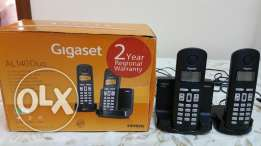 2 pieces wireless land line phone ( german made ) gegaset for sale