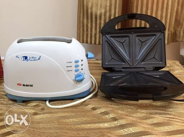 Toster and Sandwich maker for sale