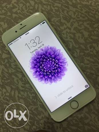 Apple iPhone 6 128gb gold color with all accessories
