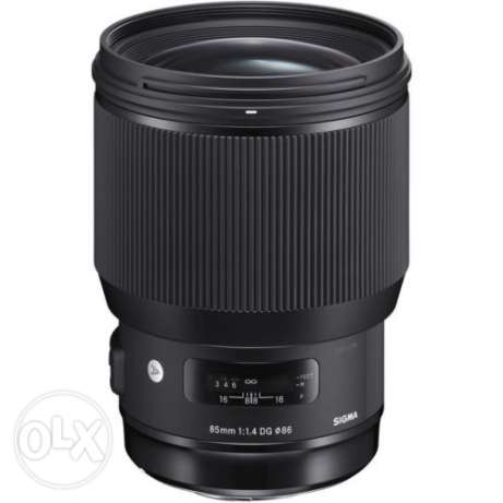 New!! Sigma 85mm F1.4 DG HSM Art for Canon