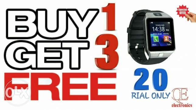 Buy 1 get 3 free SMART WATCH
