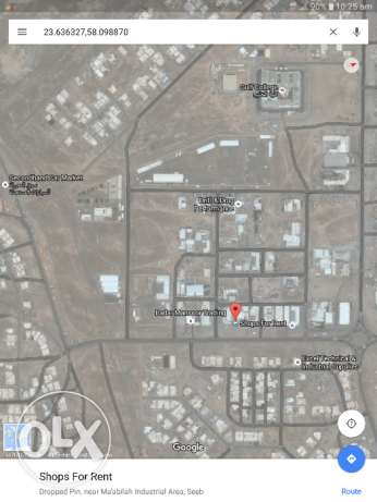 Shops for rent Mabela industry area Location as shown on photos السيب -  1