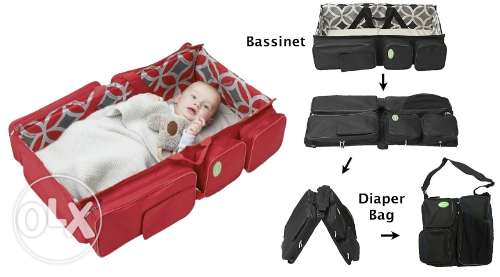 neonates travel bed and bag-2 in 1 مسقط -  5