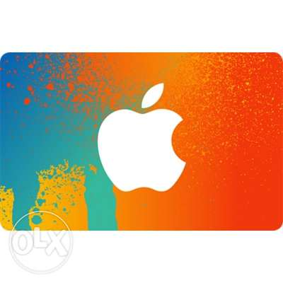 Apple gift card (ITunes)-بطاقات ايتيونس أمريكي