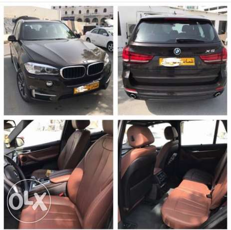 BMW X5 2015 6 cylinder 7 Seats 24000km driven 5 Cameras Leather Seats