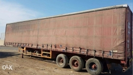 Curtain Side & Skeleton Trailer