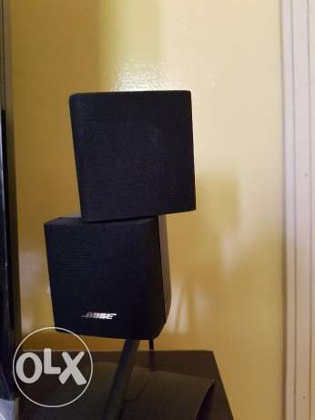 Bose Speaker with sub-woofer with Denon Amolifier