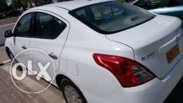 Nissan sunny model 2016 for sale in gloss white colour