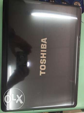 second hand good condition toshiba laptop