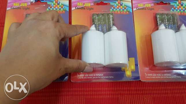 led candles with FREE battery-colour changing مسقط -  2