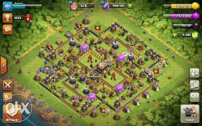 Maxed TH11 CoC Account For Sale