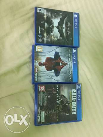 (URGENT SALE) PS4 games for sale مسقط -  4