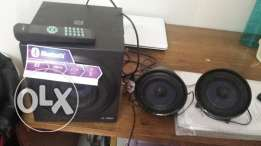 Expatriate leaving. OR 4. New 2.1 F & D Sound system.