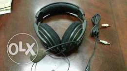 Galaxy Comfortable Headphones with microphone dual connection jacks