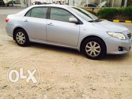 2009-1.8 cc-Toyota Corolla-89000 kmr-expat single lady only use-Omncar