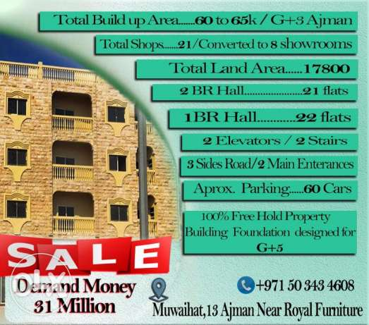 Building for sale in Ajman
