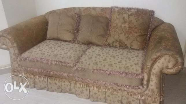 Sofa 5+1+1 in good condition