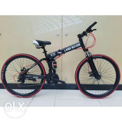 Land Rover Foldable Bicycle Red and Black SP-0045