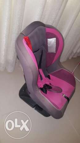 Car seat and rocker chair for Sale in a good condition