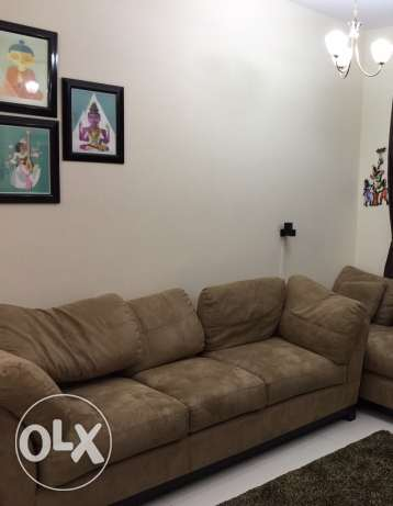 3 seater sofa -OMR 140 (from home centre)