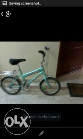 Expat leaving . Bicycle in good condition for sale 9ro. Darsait