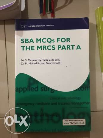 MRCS BOOKS For lucky candidates
