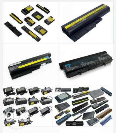 بطاريات الحاسوب Laptop batteries for all brands