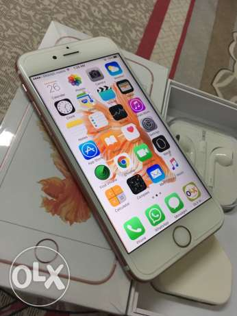 Apple iPhone 6s Rose Gold excellent condition with all accessories