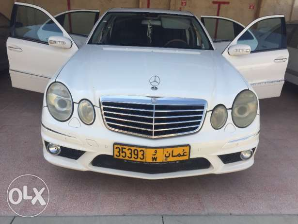 Mercedes-benz e500 model 2003 (bodykit e63 amg