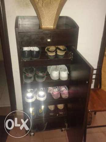 Double side shoe rack for sale
