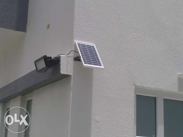 Solar wall motion Flood Light