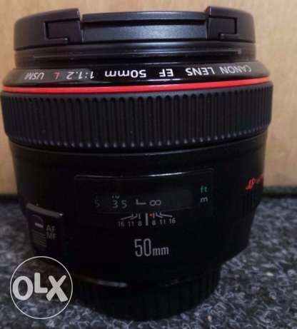 Canon EF 50mm F/1.2 L USM Camera Lens