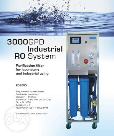 3000 GPD RO Water purification