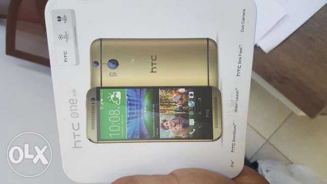 Htc one m8 32 gb with memory card slot free gifts and warranty