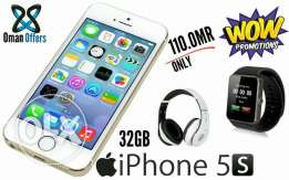 New iphone 5s 32GB gold With verey Nice Gifts