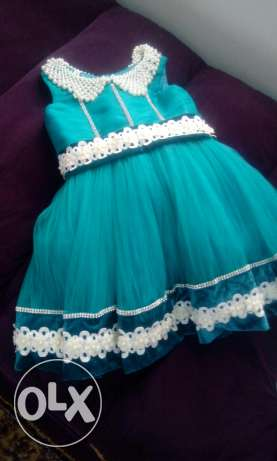 Baby girl's party dress (used once)