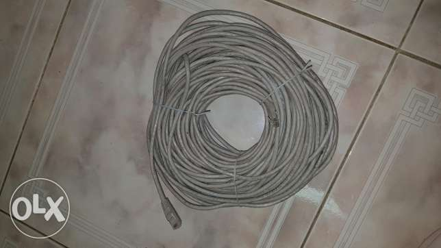 Cable(terminitor) 50 meeters for WiFi router, used for few months