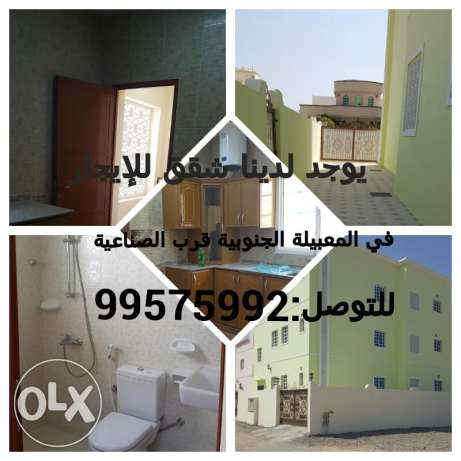 3 flats in Al Mabbela for rent السيب -  1